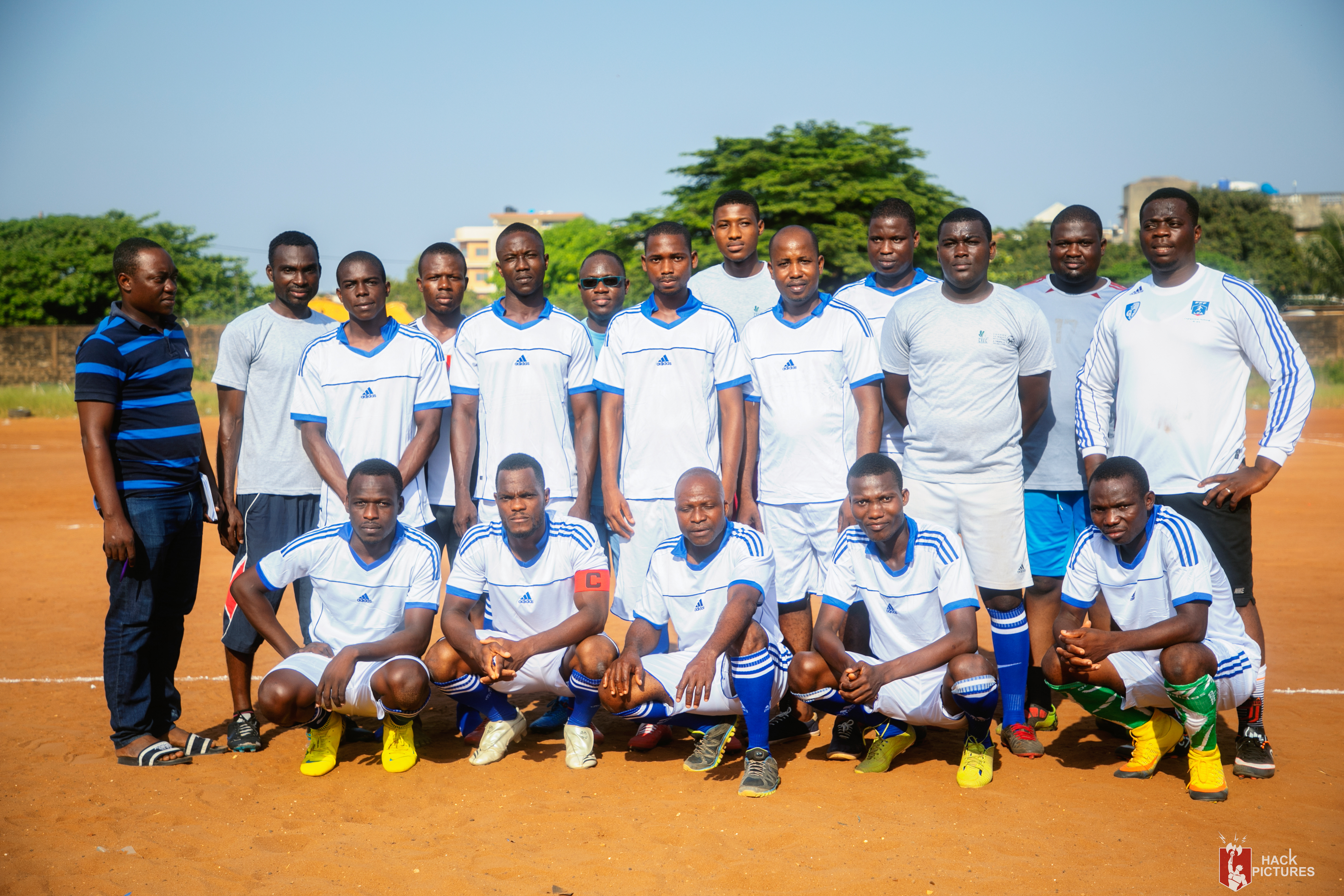 CREC-LSHTM 2019 Football Team