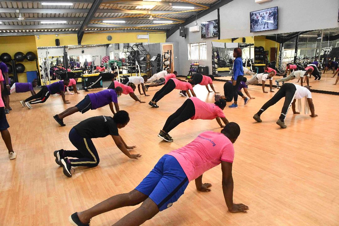 CREC/LSHTM Staff Fitness Bootcamp E01   April 3, 2021
